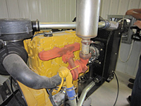 Caterpillar Engine Insulation (FCAT104Z)