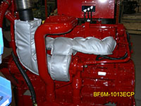 Deutz BF6M-1013ECP with Firwin Insulation Blankets
