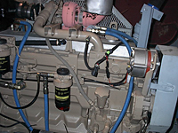 John Deere Engine Insulation (FJ604Z)