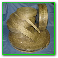 Vermiculite Coated Fiberglass Tapes